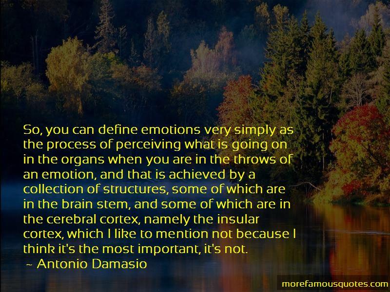 Antonio Damasio Quotes Pictures 2