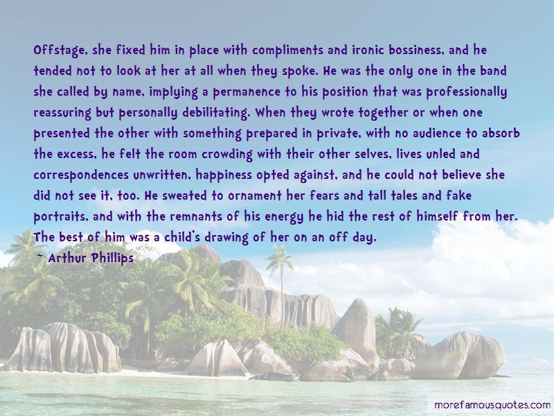 Arthur Phillips Quotes