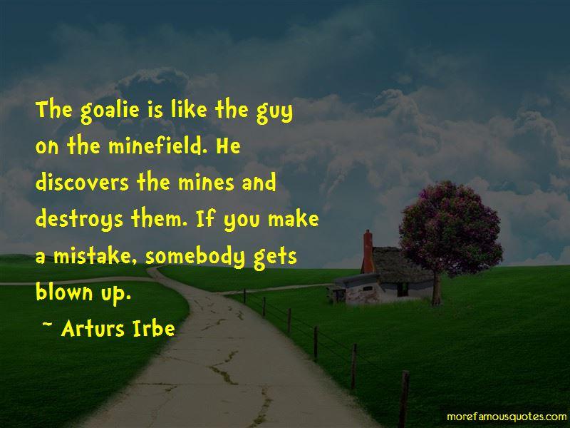 Arturs Irbe Quotes