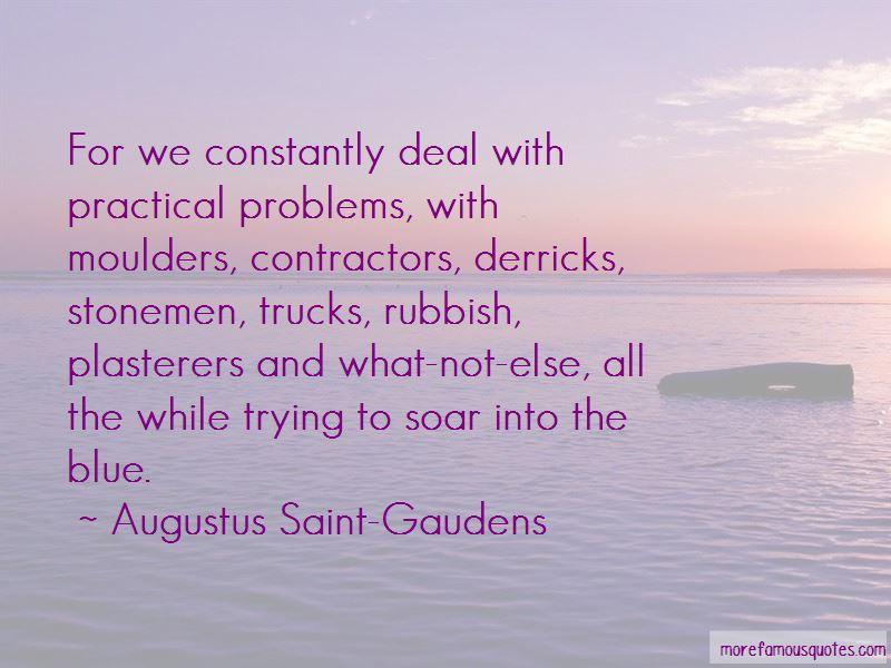 Augustus Saint-Gaudens Quotes Pictures 2