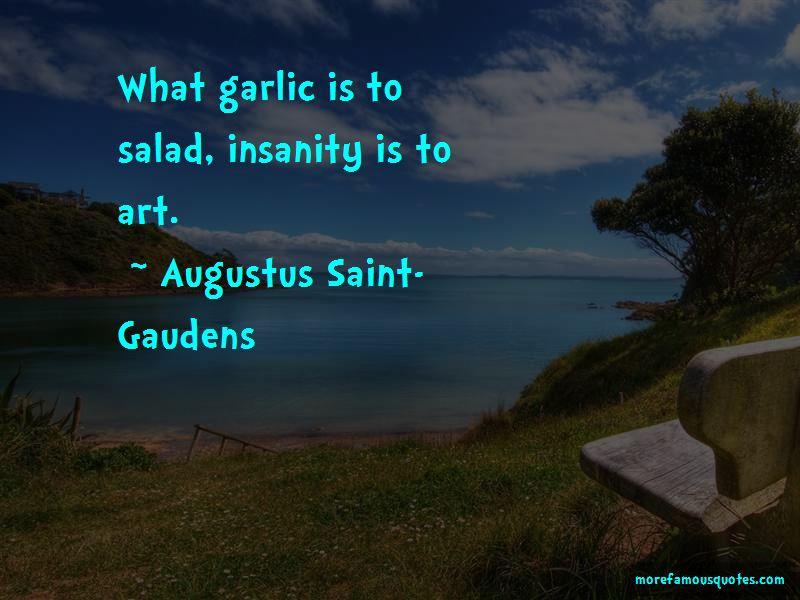 Augustus Saint-Gaudens Quotes
