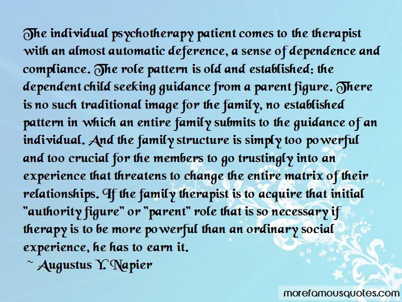 Augustus Y. Napier Quotes Pictures 4