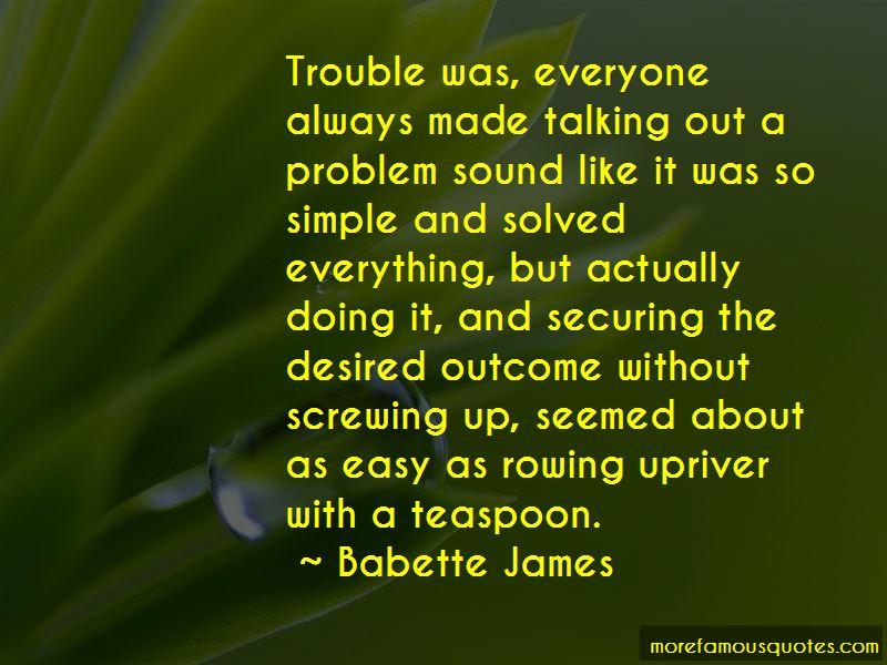 Babette James Quotes Pictures 2