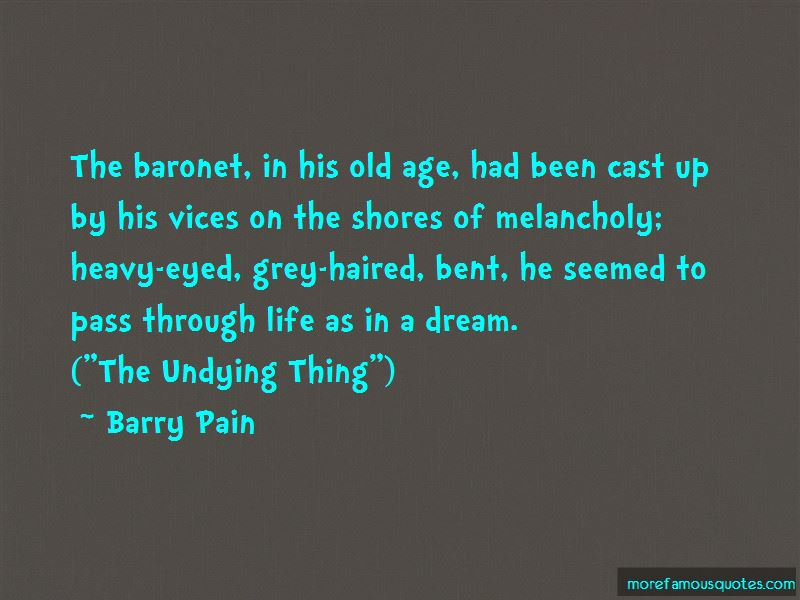 Barry Pain Quotes