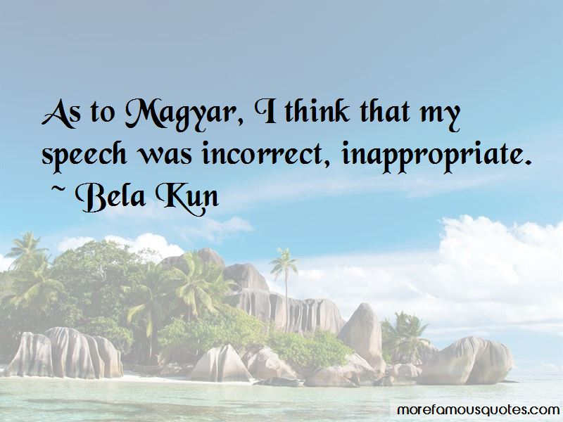 Bela Kun Quotes Pictures 2