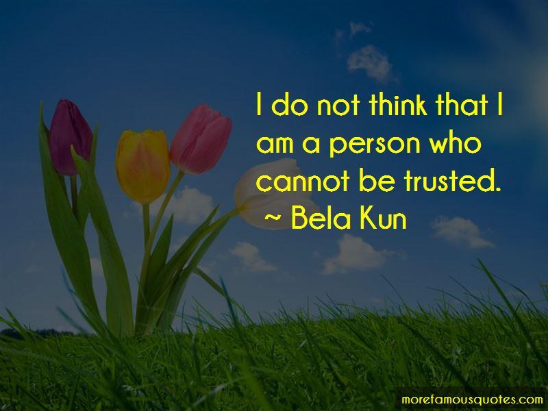 Bela Kun Quotes Pictures 3