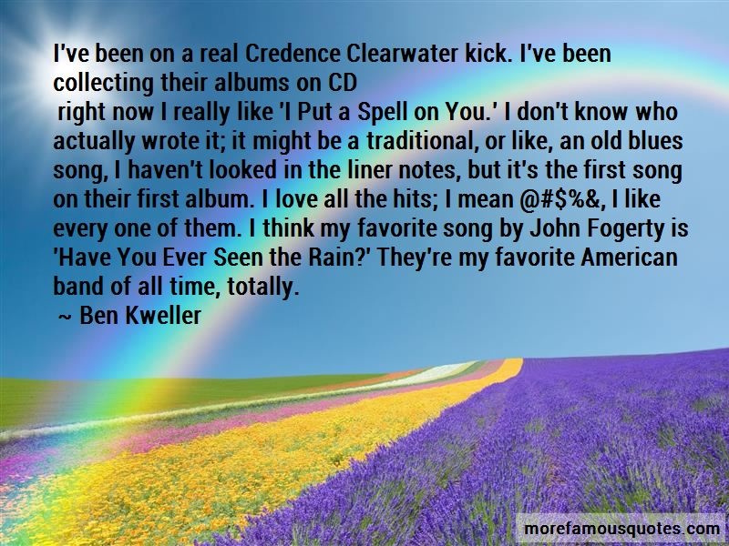 Ben Kweller Quotes Pictures 2