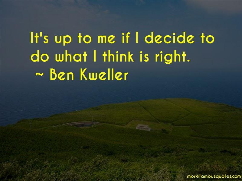 Ben Kweller Quotes