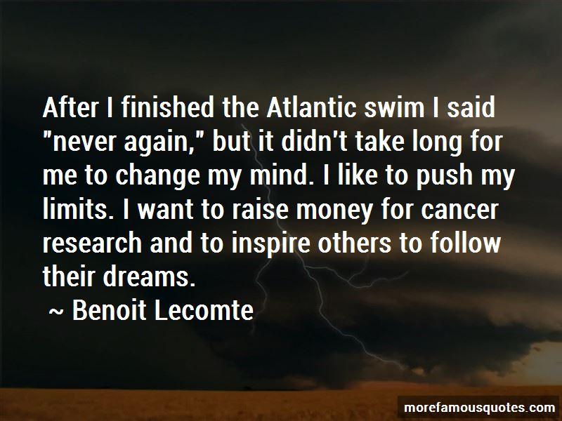 Benoit Lecomte Quotes Pictures 2