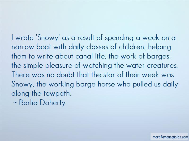 Berlie Doherty Quotes