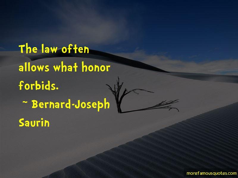 Bernard-Joseph Saurin Quotes Pictures 3