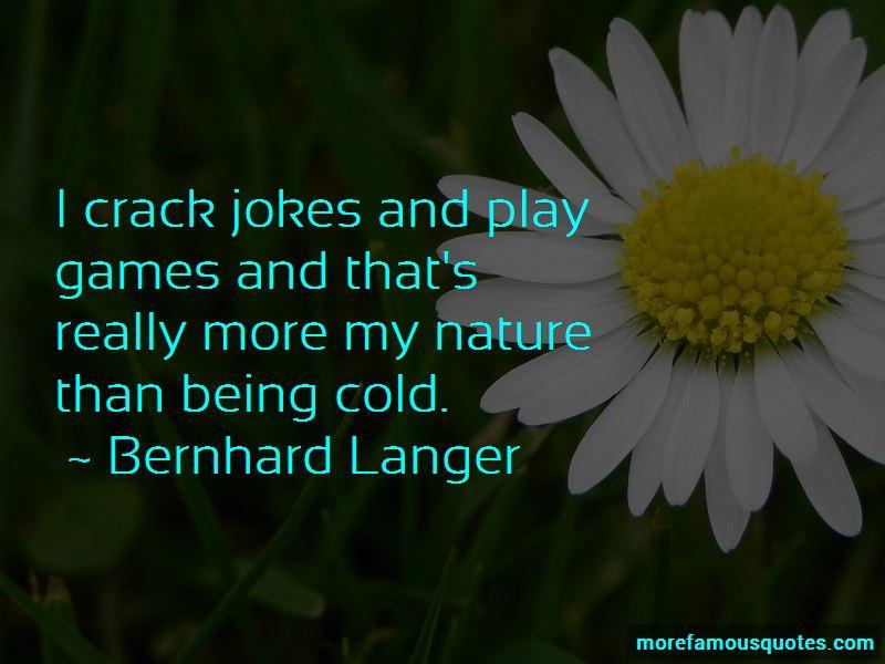Bernhard Langer Quotes Pictures 2