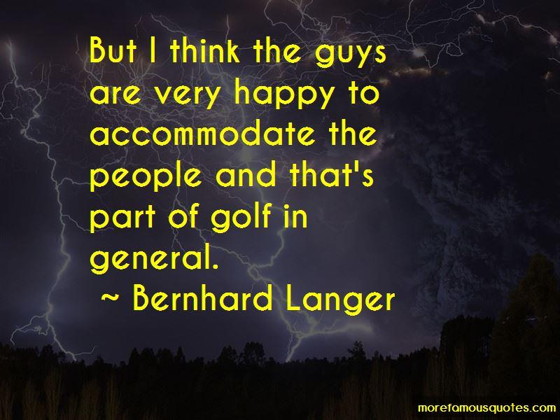 Bernhard Langer Quotes Pictures 3