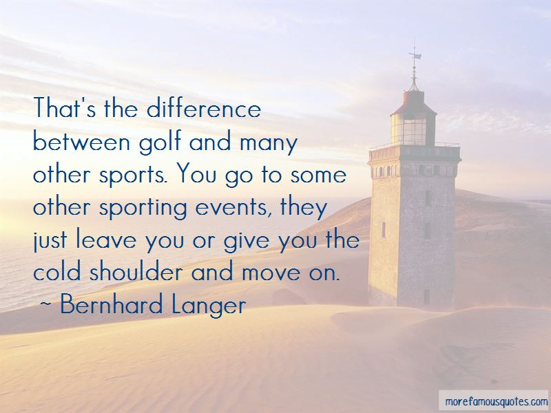 Bernhard Langer Quotes Pictures 4