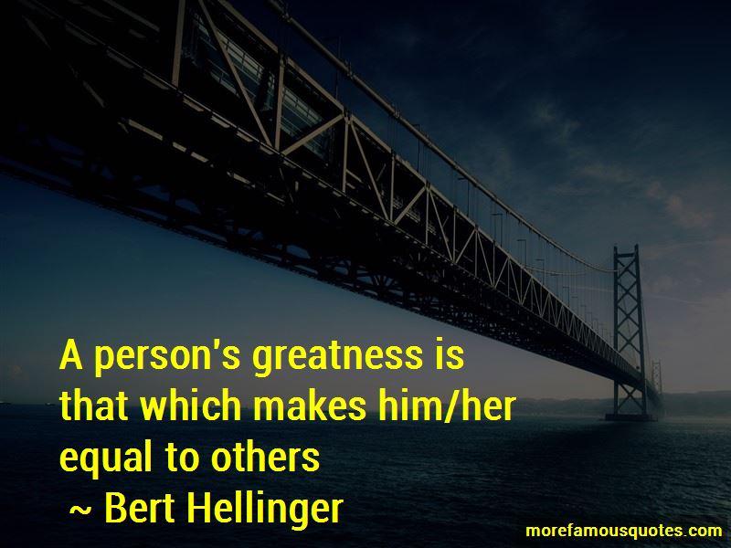 Bert Hellinger Quotes Pictures 2