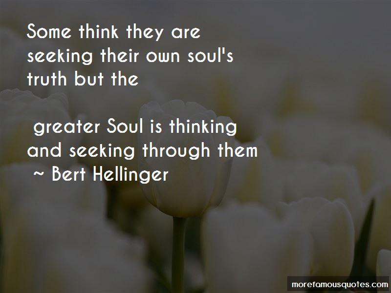 Bert Hellinger Quotes