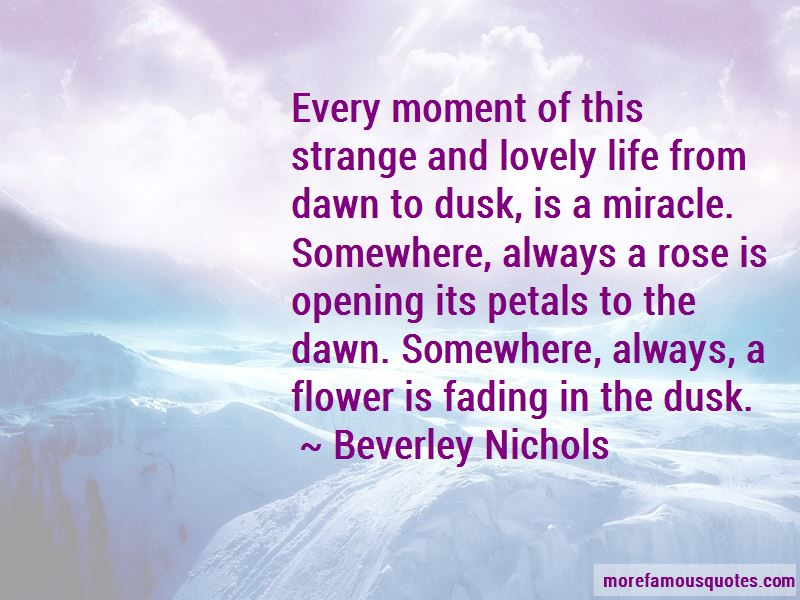Beverley Nichols Quotes Pictures 2