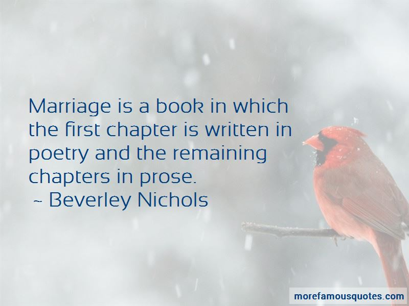 Beverley Nichols Quotes Pictures 3