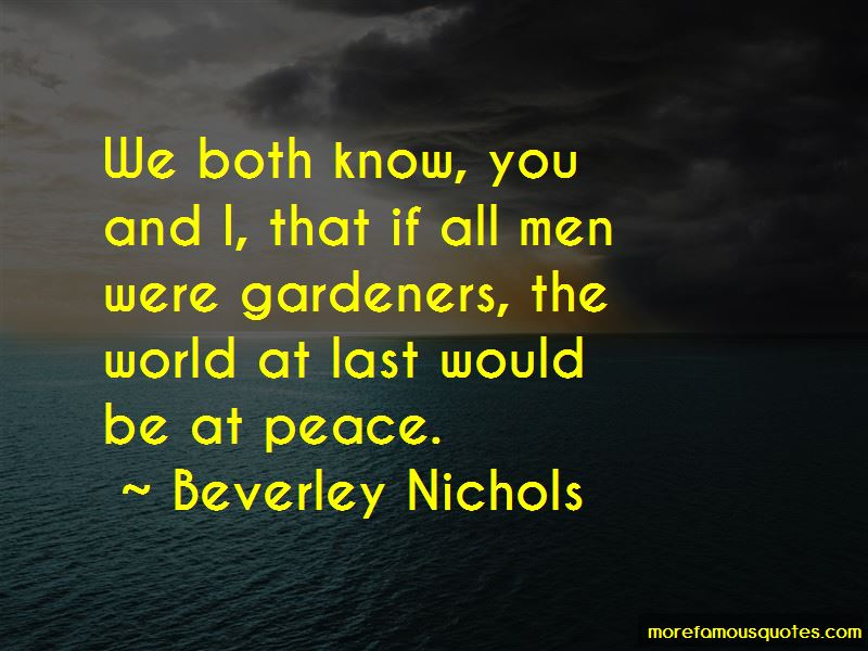 Beverley Nichols Quotes Pictures 4