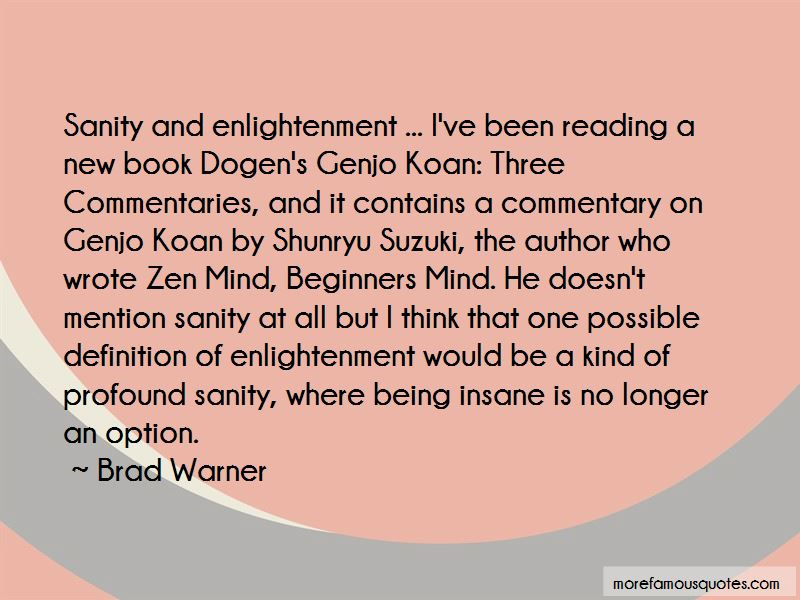 Brad Warner Quotes Pictures 2