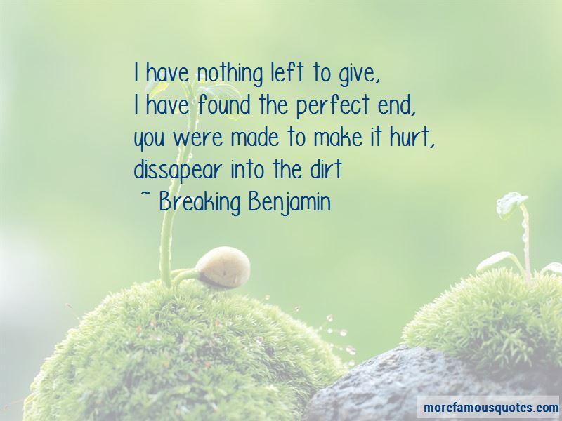 Breaking Benjamin Quotes Pictures 3