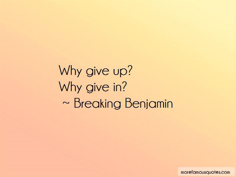 Breaking Benjamin Quotes Pictures 4