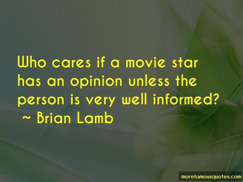Brian Lamb Quotes Pictures 4