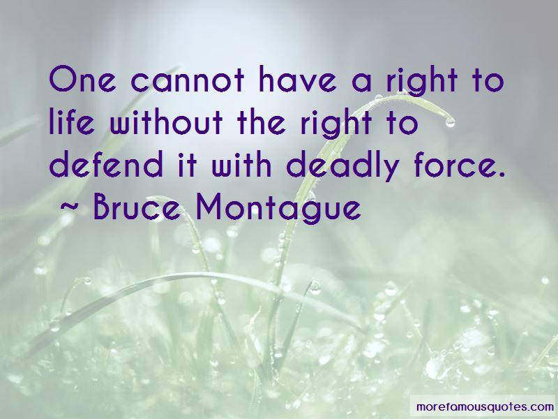 Bruce Montague Quotes Pictures 2