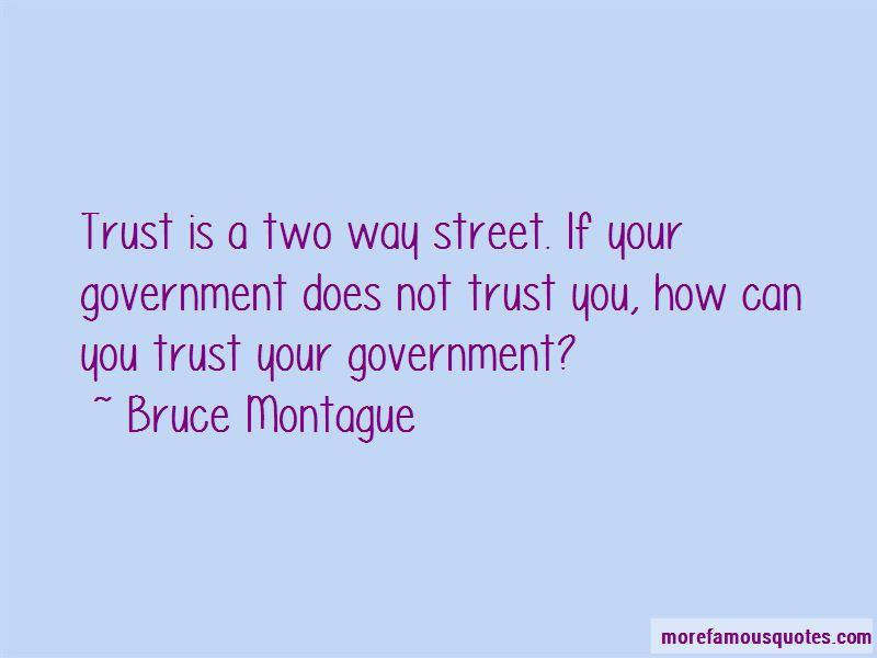 Bruce Montague Quotes