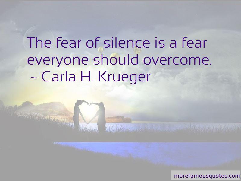 Carla H. Krueger Quotes Pictures 2
