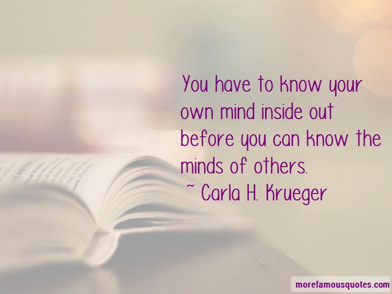 Carla H. Krueger Quotes Pictures 3