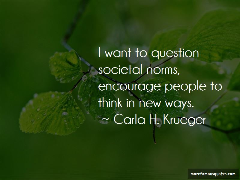 Carla H. Krueger Quotes Pictures 4