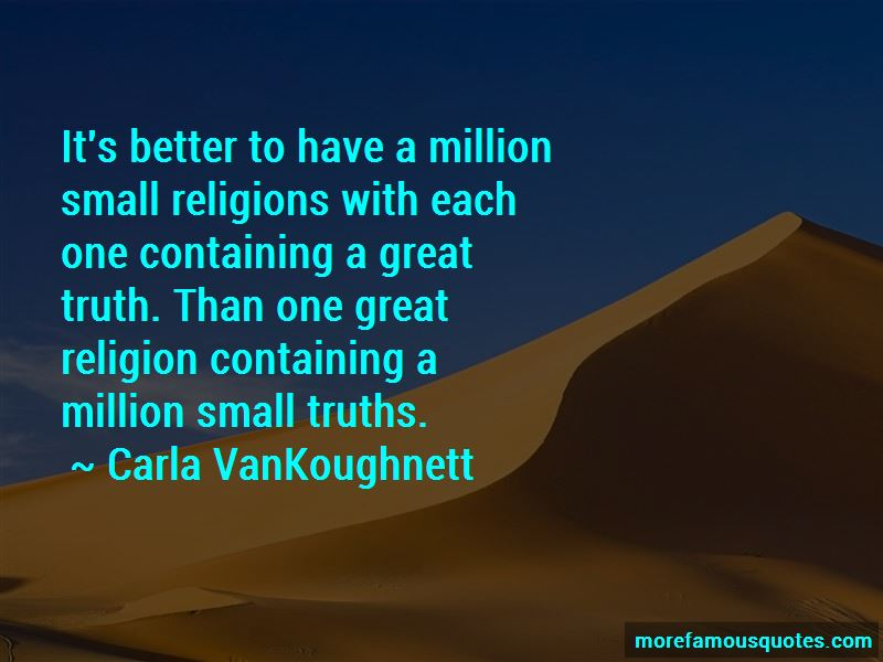 Carla VanKoughnett Quotes Pictures 3