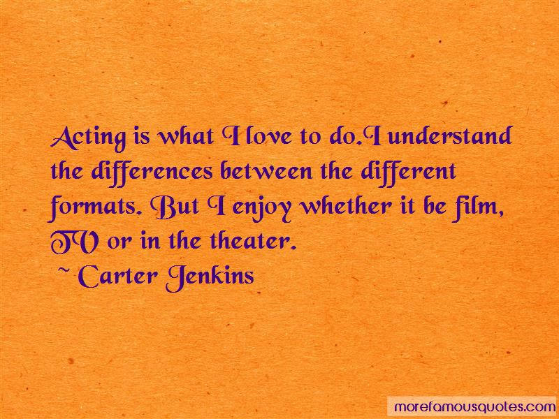 Carter Jenkins Quotes Pictures 2