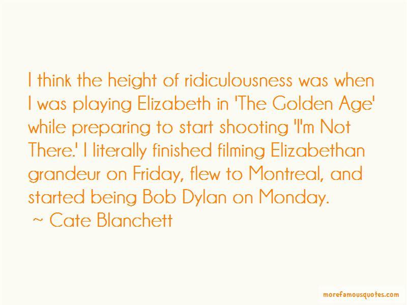 Cate Blanchett Quotes