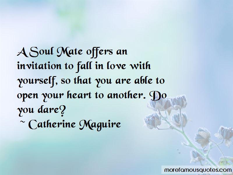 Catherine Maguire Quotes