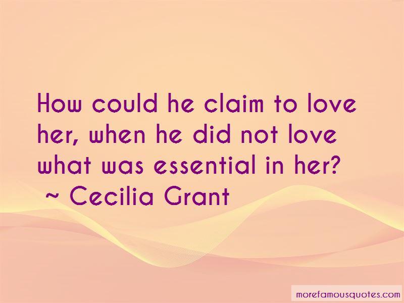Cecilia Grant Quotes Pictures 3