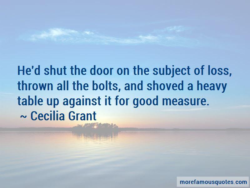 Cecilia Grant Quotes Pictures 4