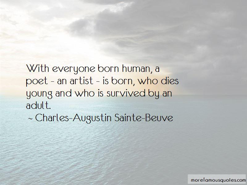 Charles-Augustin Sainte-Beuve Quotes Pictures 2