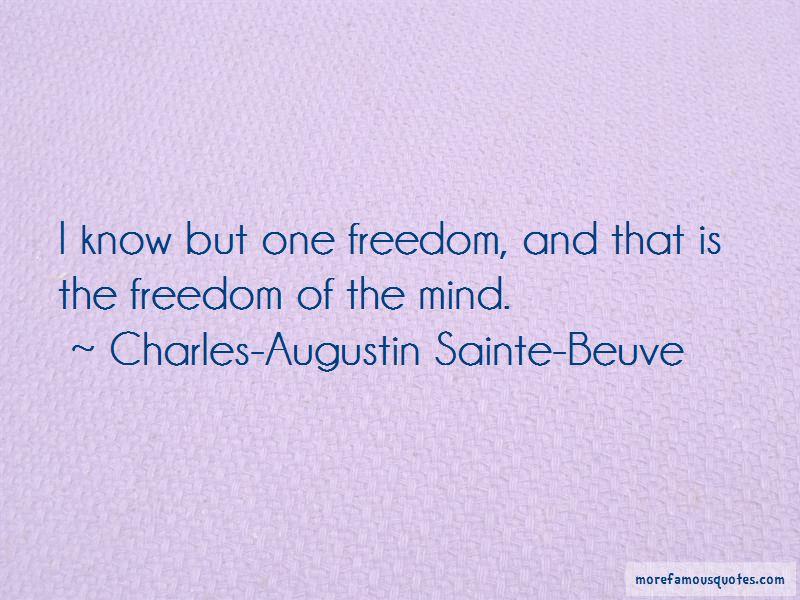 Charles-Augustin Sainte-Beuve Quotes