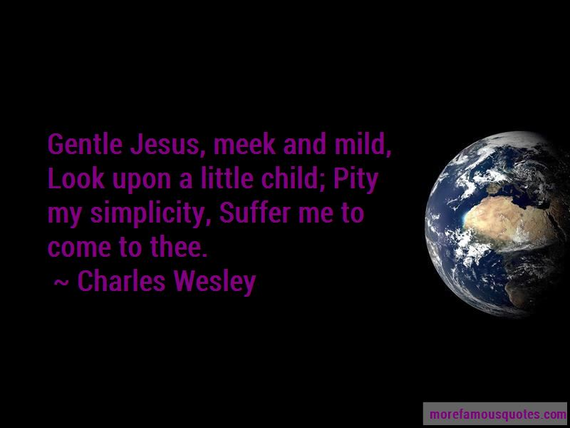 Charles Wesley Quotes Pictures 4
