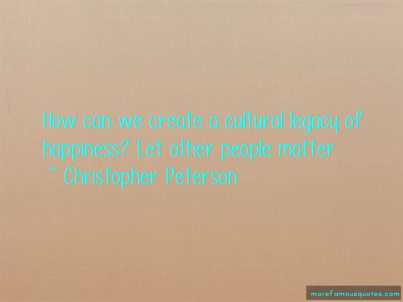 Christopher Peterson Quotes Pictures 2