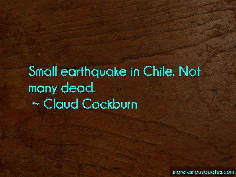 Claud Cockburn Quotes Pictures 4