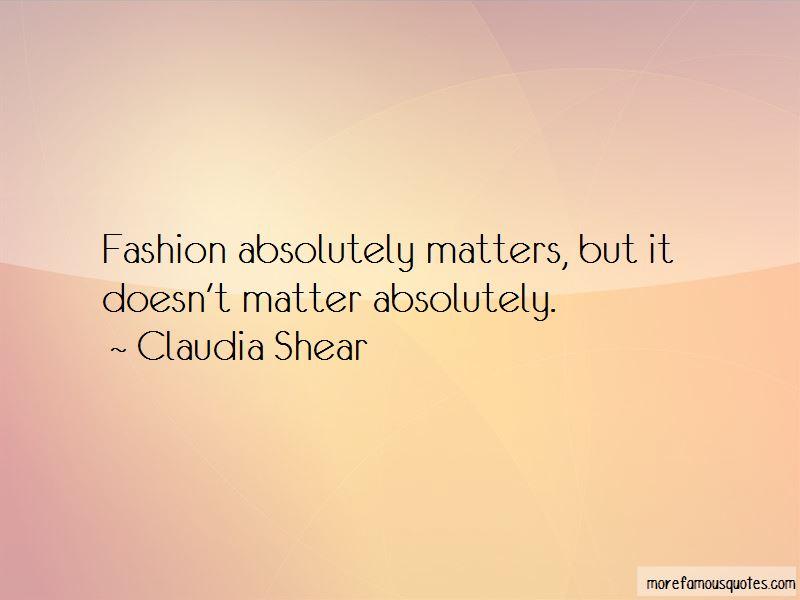 Claudia Shear Quotes