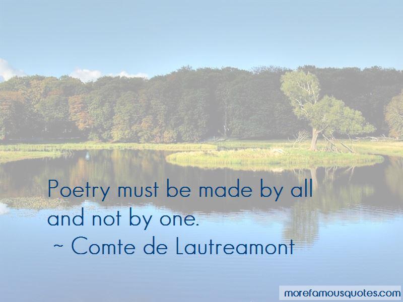 Comte De Lautreamont Quotes Pictures 3