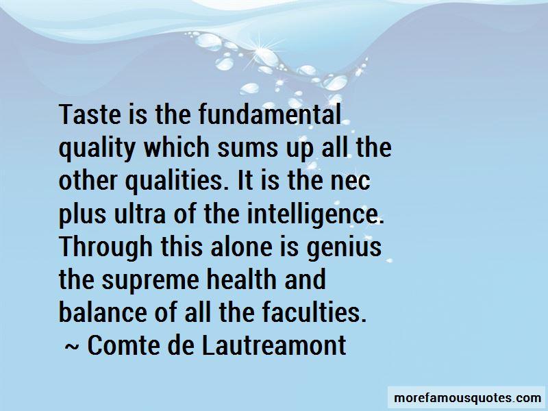 Comte De Lautreamont Quotes Pictures 4