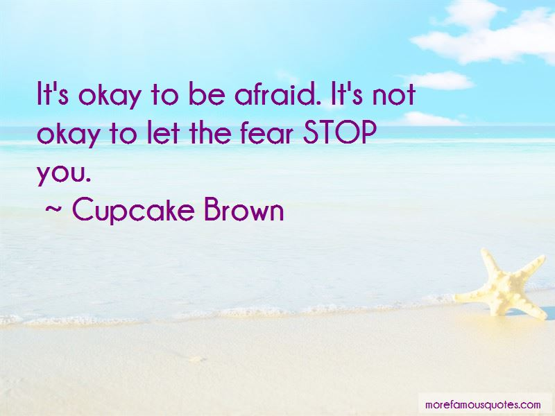 Cupcake Brown Quotes Pictures 4