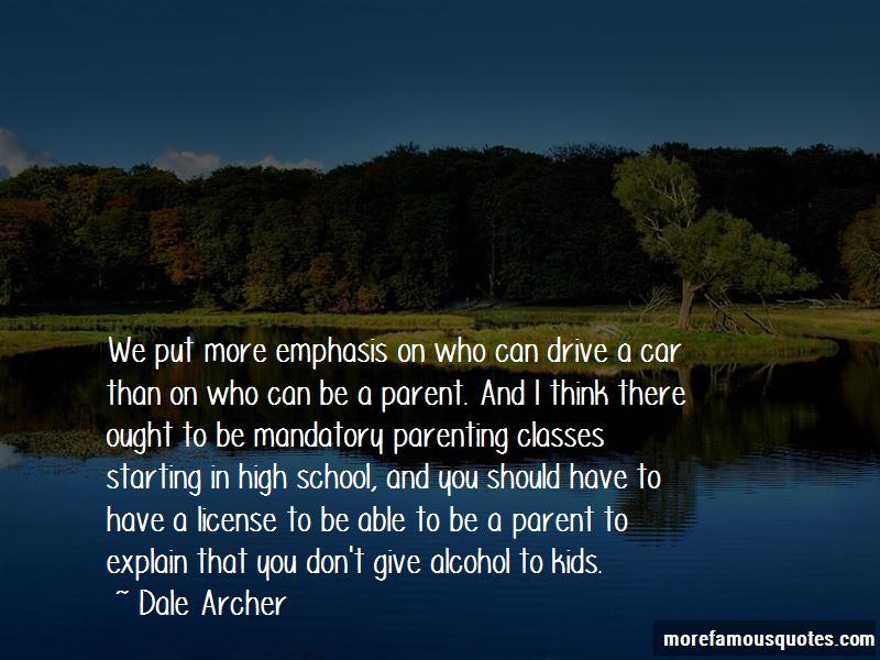 Dale Archer Quotes Pictures 2