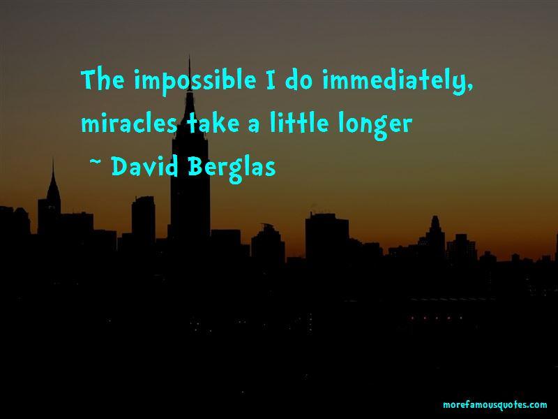David Berglas Quotes