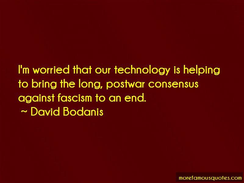 David Bodanis Quotes